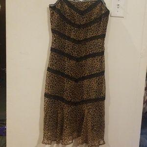BCBG MAXAZRIA ANIMAL DRESS SIZE 2